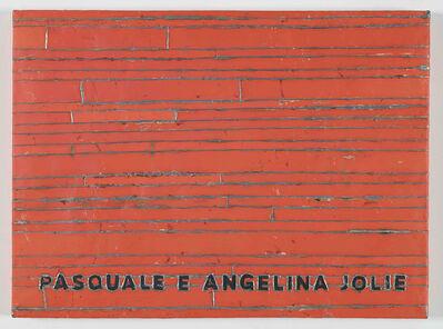 Adel Abdessemed, 'Cocorico painting, Pasquale e Angelina Jolie', 2017-2018