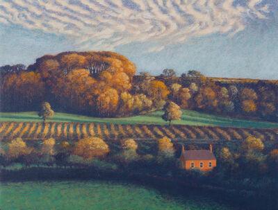 James Lynch (b. 1956), 'The Red Brick House'
