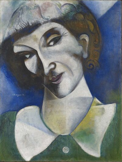Marc Chagall, 'Self-Portrait  (Portrait de l'artiste)', 1914