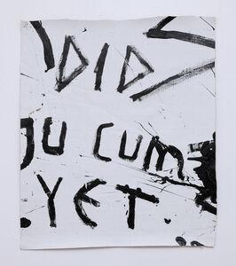 Richie Culver, 'Did You Cum Yet', 2019