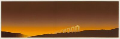 Ed Ruscha, 'Hollywood', 1968