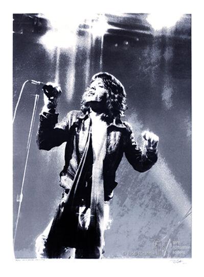 Bob Gruen, 'Mick Jagger-NYC-1972', 1972