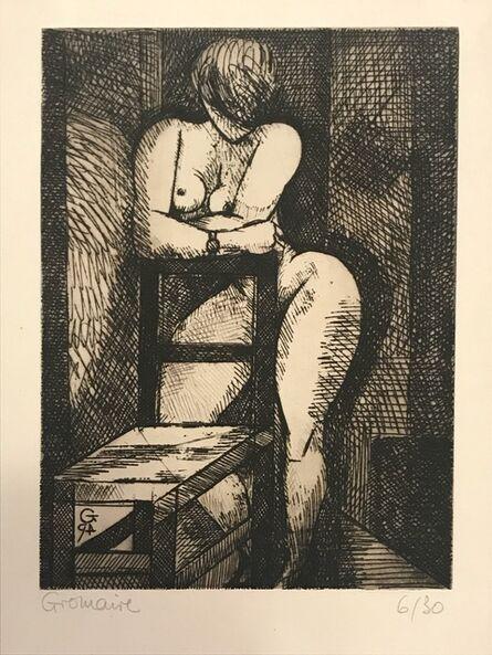 Marcel Gromaire, 'Nu à la Chaise', ca. 1930
