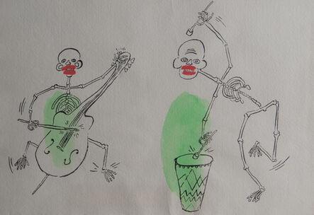 Keith Haring, 'Knokke', 1987