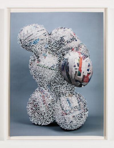 Nicolas Lobo, 'Balloon collage (Palsy version #9 (interrupted))', 2013