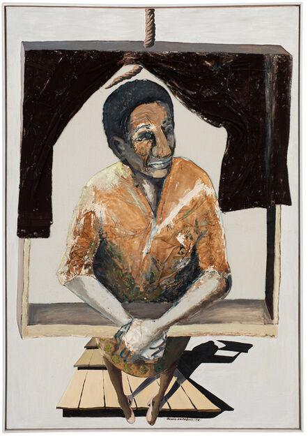 Benny Andrews, '6 Floor Walkup', 1974