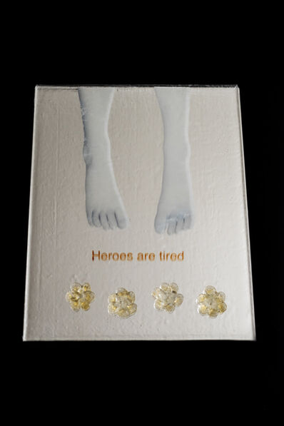 Silvia Levenson, 'Heroes are tired', 2017