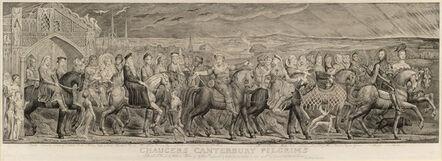 William Blake (1757-1827), 'Chaucer's Canterbury Pilgrims', 1809-1810