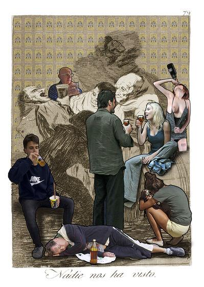 Lluis Barba, 'Nadie nos ha visto. Goya ', 2019