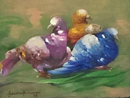 Gesner Armand, 'Three Pigeons', 1995