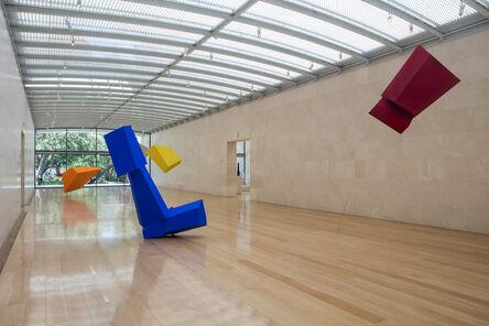 Joel Shapiro, 'Installation view, Joel Shapiro, Nasher Sculpture Center', 2016