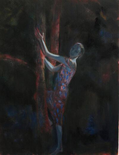 Markus Vater, 'Woman in Moonlight'