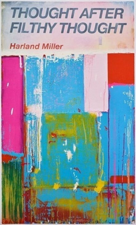 Harland Miller, 'Thought After Filthy Thought', 2019