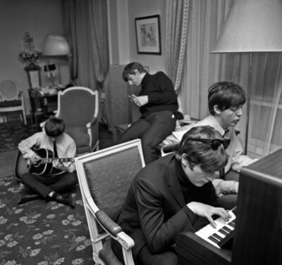 Harry Benson, 'The Beatles Composing I, Paris', 1964
