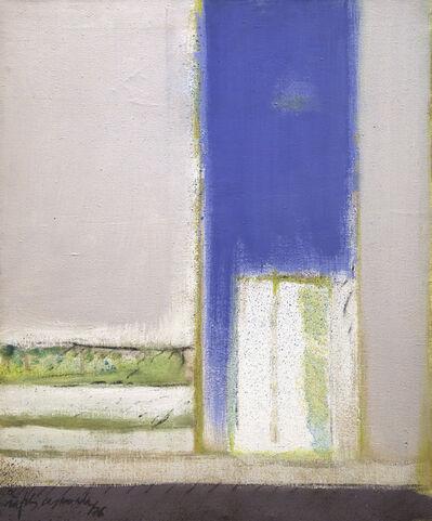 Albert Ràfols-Casamada, 'Obertura blava', 1976