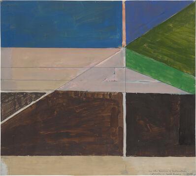 Richard Diebenkorn, 'Lower Colorado #4', 1970