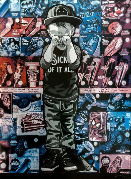 Logan Hicks, 'Sick of it All Collaboration (5)', 2020