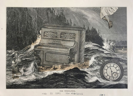 Nathan Gluck, 'The Whirlpool', 1941