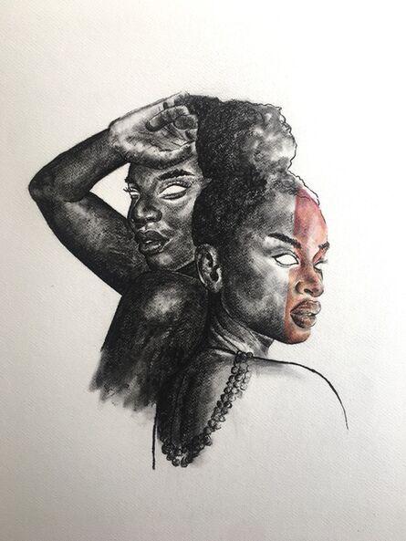 Neo Mahlangu, 'Two Ladies', 2020