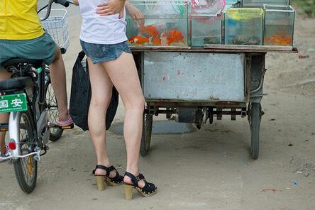 Lana Z Caplan, 'Fish Bike Legs', 2013