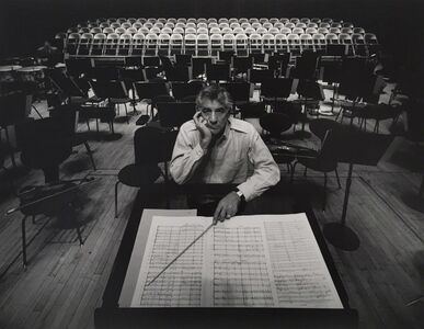 Arnold Newman, 'Leonard Bernstein, New York City', 1968