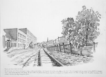 Zhi Lin, 'The Prairie Line beyond South 25th Street', 2017