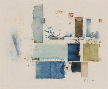 William Dole, 'Cabal', 1981