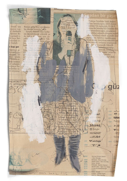 Irfan Önürmen, 'Newspaper Series 2', ca. 2000-02
