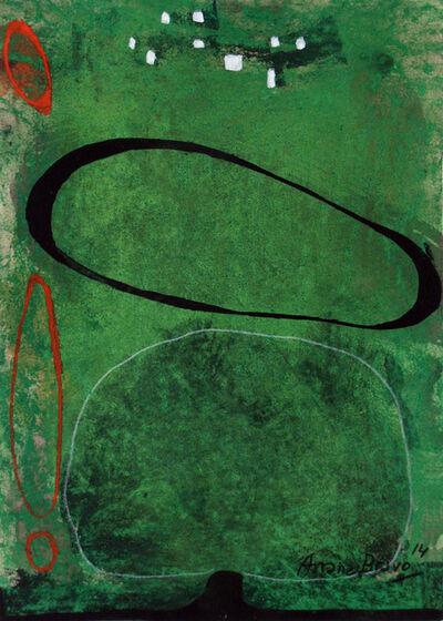 Eduardo Arranz-Bravo, 'Green-Green 2', 2014