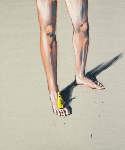 Marco Spitzar, 'Gelehrtenbeine - Uhu Balance  ', 2015