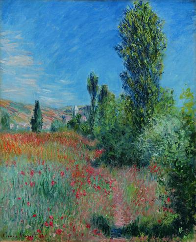 Claude Monet, 'En Paysage dans l'île Saint-Martin', 1881