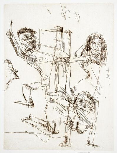 John Olsen (b.1928), 'Inspiration', 2012