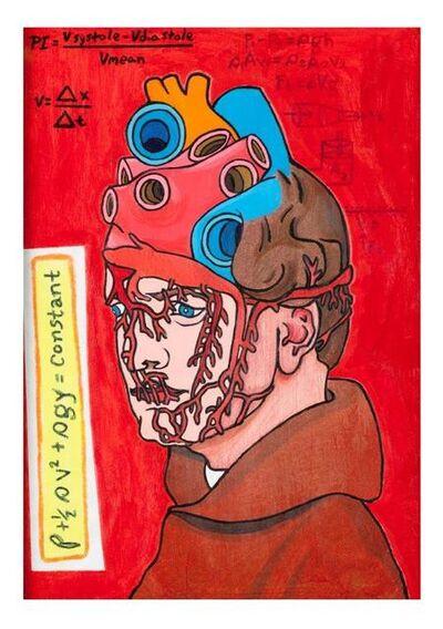 Bryan Lewis Saunders, 'Untitled from Gregor Mendel Mutations', 2013