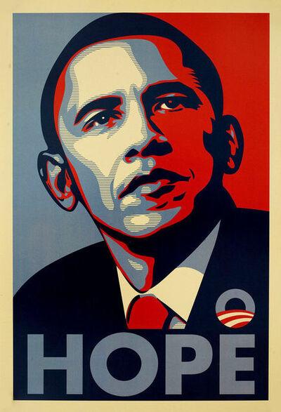 Shepard Fairey, 'HOPE (Obama)', 2008