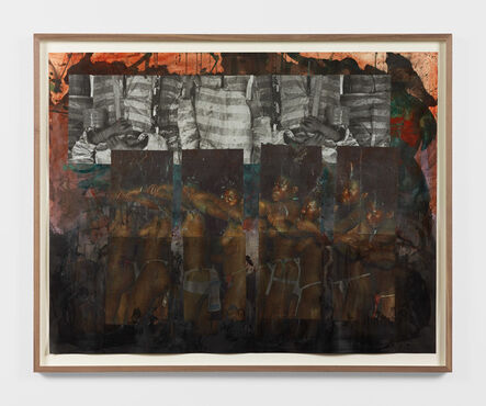 Kandis Williams, 'In an events-without-witness era', 2019