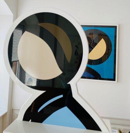 Julian Opie, 'Heads - Bobby', 2017