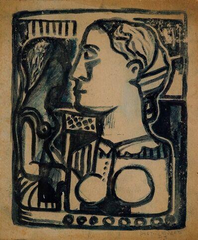 René Portocarrero, 'Perfil de Mujer', 1943
