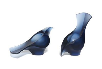 Mike Crawford, 'Piwakawaka (Steel Blue)', 2018