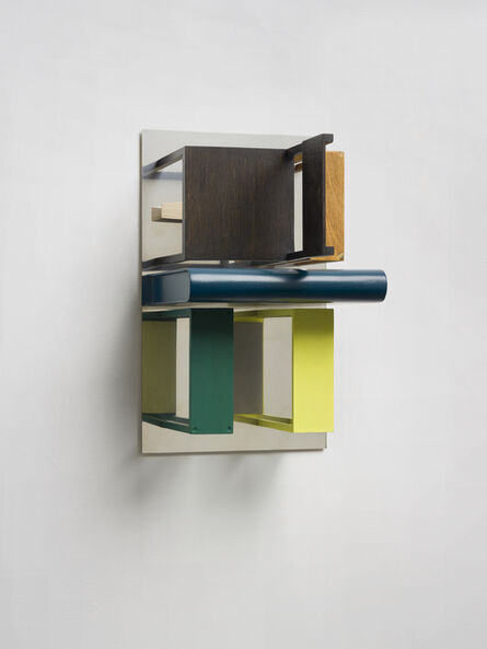 Nahum Tevet, 'Double Mirrors (With Yellow & Green)', 2013