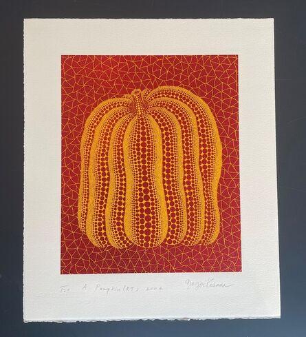 Yayoi Kusama, 'A Pumpkin(RT)', 2004