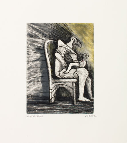 Henry Moore, 'Mother and Child XVIII', 1983