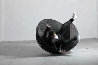 Sorin Neamtu, 'Action with Rolling Chaise Longue', 2013