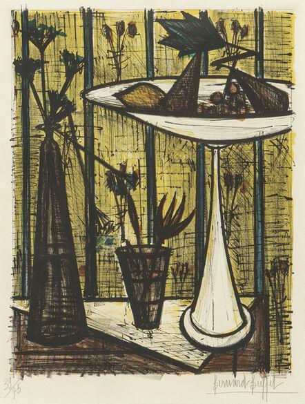 Bernard Buffet, 'Le plat à fruits', 1954