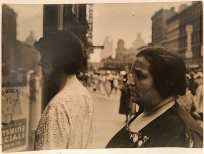Ben Shahn, 'Two Women at Shop Window ', 1933
