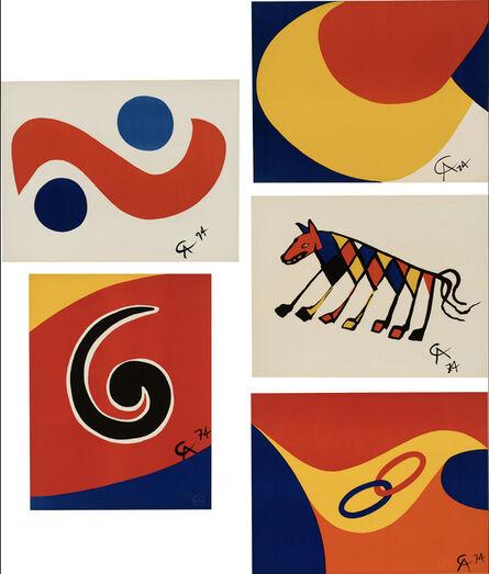 Alexander Calder, 'Flying Colors', 1974