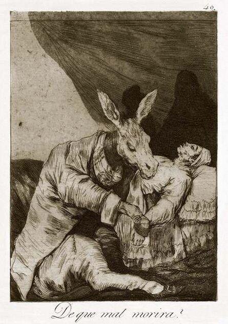 Francisco de Goya, '¿De qué mal morirá?', 1868