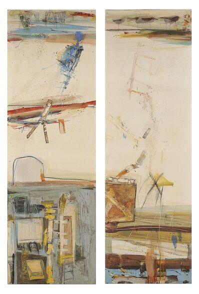 Robert S. Neuman, 'Dos Veces en Las Rambles (diptych)', 1960