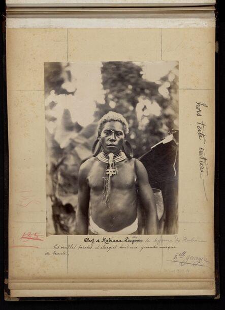 'Chef de la lagune de Rubiana'