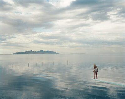 Nadav Kander, 'Diver, Salt Lake, Utah, USA', 1997/2021