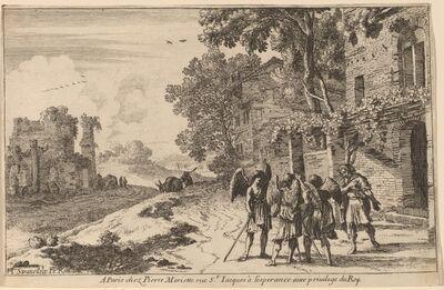 Herman van Swanevelt, 'Abraham and the Three Angels'